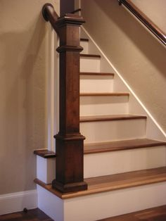 Stair Parts 55 In. X 6 1/4 In. Red Oak Box Newel Post | Red Oak, Newel Posts  And Stair Railing