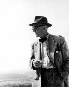 Le Corbusier, Ronchamp 1954. ©Andre´ Maisonnier-FLC-ADAGP. Paris 2013.