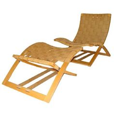 Hey - we used to sell this chair in the 70's.  So nice and simple, wish someone still made it. Ingmar Relling For Westnofa Folding Lounge Chair And Ottoman | 1stdibs.com