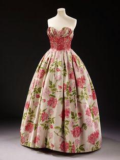Evening dress 1957 | Flickr - Photo Sharing!