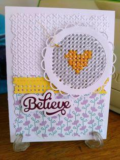 Mi Scrap: believe card Blog, Believe, Card Making, Scrapbook, Cards, Cardmaking, Bullion Embroidery, Trapper Keeper, Paper Envelopes