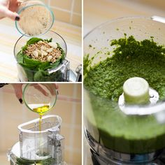 Make your own basil pesto—finally something to do with all of my grown basil!!!