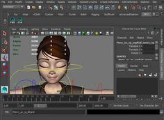 Mery Rig - Free Maya Character Rig, Female Character rigComputer Graphics & Digital Art Community for Artist: Job, Tutorial, Art, Concept Art, Portfolio