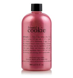 frosted cookie  pink frosted sugar cookie shampoo, shower gel & bubble bath