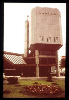 Fukuoka Mutual Bank / Oita, Japan - 1967 / Arata Isozaki