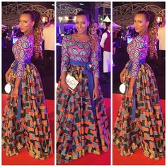Beautiful Mix of Ankara: DJ Cuppy Looks Effortlessly Fab in Different Prints of Ankara Style - Wedding Digest Naija African Dresses For Women, African Print Dresses, African Attire, African Wear, African Women, African Prints, African Style, African Inspired Fashion, African Print Fashion