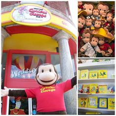 The Curious George Store in Cambridge, Massachusetts