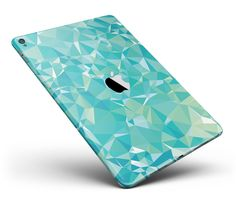 Teal Geometric Full Body Skin for the iPad Pro or available) from DesignSkinz Cute Ipad Cases, Cute Cases, Cute Phone Cases, Ipod, Iphone 5se, Apple Watch Iphone, Ipad Air Case, Ipad Pro 12 9, Tech Gadgets