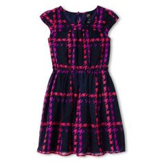 c9ad0ff9196 Total Girl® Short-Sleeve Woven Dress - Girls 6-16 and Plus found