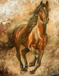 Horse Oil Painting On Canvas Pintura Em Tela … Horse Oil Painting, Oil Painting On Canvas, Knife Painting, Arte Equina, Horse Artwork, Running Horses, Horse Drawings, Equine Art, Western Art