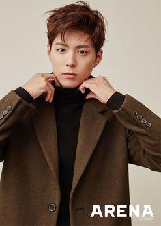 Park Bo Gum models the perfect boyfriend look for 'Arena' Asian Actors, Korean Actors, Park Bo Gum Cute, Park Bo Gum Wallpaper, Park Bogum, Oppa Gangnam Style, Park Seo Joon, Park Hyung Sik, Kim Jisoo