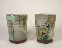 Medicine Wheel Tumblers by janellesonger on Etsy, $30.00