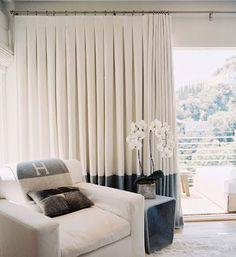 inverted box pleat drapes