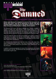 The Damned - WGW 2015 Spring