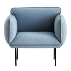 furniture—the Nakki collection from Finnish company Woud features sofas, armchairs and ottomans; designed by Mika Tolvanen