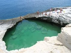 VISIT GREECE| Natural Pool in Thassos, Greece