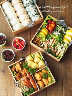 運動会シーズンで悩むのはやはりお弁当のメニュー。今回は悩んだ時に参考にしたい、簡単で美味しい彩りおかずのレシピをピックアップしました。 Bento Recipes, Healthy Recipes, Desserts Japonais, Bento Box Lunch, Cafe Food, Japanese Food, Japanese Lunch Box, Asian Recipes, Food Porn