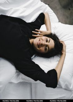 Audrey Tautou. (French actress)