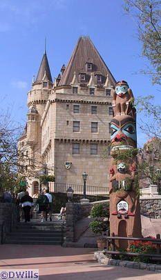 Canada pavilion. Epcot. Walt Disney World Resort, Bay Lake, Florida, United States of America.