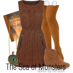 Outfit inspired by The Sea of Monsters by Rick Riordan (Percy Jackson & the Olympians series)
