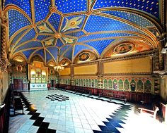 Inside the Ducal Palace of Gandia Valencia, Palace Interior, Ireland Landscape, St Francis, Amazing Architecture, Taj Mahal, Castle, Louvre, Around The Worlds