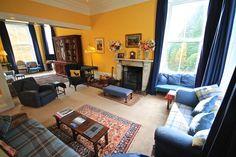 The Drawing Room at Glencarron Lodge http://www.glencarronestate.co.uk