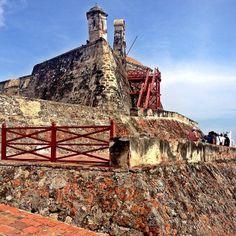 Castillo de San Felipe de Barajas - Cartagena, Colombia