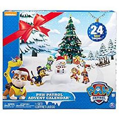 Count down to the holidays with the Paw Patrol Advent Calendar. There are 24 gifts for every day leading up to the big day! Open a door each day and reveal a new mini Paw Patrol figure! Collect each figure and play or display them! Advent Calendar For Toddlers, Toy Advent Calendar, Kids Calendar, Advent Calenders, Calendar 2017, Kids Advent, Christmas Countdown, Christmas 24, Day Countdown