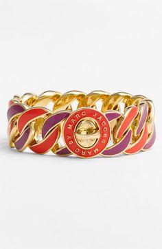 Marc Jacobs Enamel Turnlock Bracelet :)