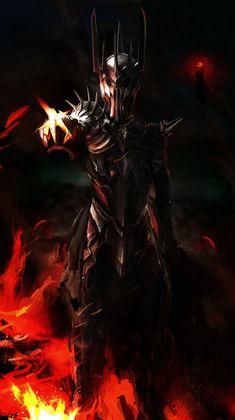 Dark Lord Sauron by Art-Calavera.deviantart.com on @DeviantArt