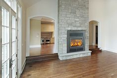 Fascinating Unique Ideas: Fireplace Insert How To fireplace shelves vaulted ceilings.Brick Fireplace With Shiplap fireplace art drawing.Fake Fireplace Built In. See Through Fireplace, Tv Over Fireplace, Double Sided Fireplace, Fireplace Shelves, Shiplap Fireplace, Fireplace Mirror, Small Fireplace, Home Fireplace, Fireplace Inserts