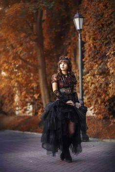 Steampunk in Autumn