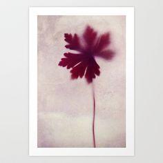vague Art Print by Claudia Drossert - $18.72