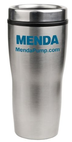 Menda 35890 Stainless Steel ESD Safe Drinking Cup 16oz Capacity ** Click image to review more details. (This is an affiliate link)