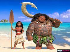 Nuevas Imágenes del Próximo Estreno de Disney : MOANA