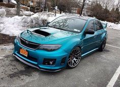 Subaru WRX - Love this blue!