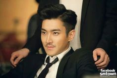 Siwon and his... Stache SUJU M Swing