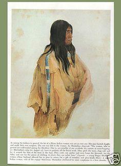 AMERICAN INDIANS native american - KARL BODMER