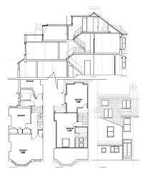 Victorian Shape Mansard Right Loft Conversions Extensions Regarding Classic London House Floor Plan Ideas Gif Loft Conversion Extension, Attic Conversion, Loft Conversions, Edwardian Haus, Making Space, Victorian Terrace, London House, House Drawing, Bedroom Loft