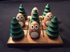 OWL and TREE Tic-Tac-Toe by WOODuPlayGames on Etsy