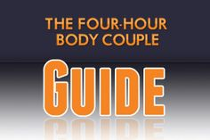 Links to the Four-Hour Body Cookbook