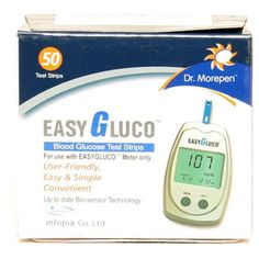 Dr. Morepen Bg01 Easygluco One 50 Test Strips Buy Online at lowest price in India: BigChemist.com