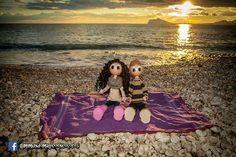 Fofuchos enamorados en la playa!!
