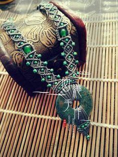 晖朦Hui Meng necklace with picture tutorials