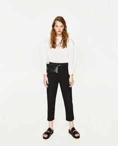 ZARA - TRF - TROUSERS WITH POCKET New Look Fashion, Zara Women, Office  Attire c37236d896