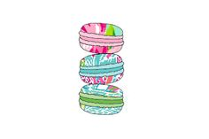 blonde-prep:  capecod-preppy:  -Lilly Macaroons-  Eaten by only the preppiest of preps.