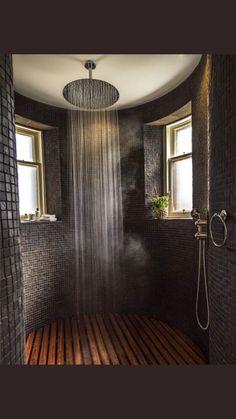 ❤ Check Out 25 Inspiring Rustic Bathroom Ideas - Traumhaus Dream Home Design, My Dream Home, Home Interior Design, Dream House Interior, Beautiful Houses Interior, Rustic House Design, Beautiful Home Interiors, Interior Ideas, Interior Inspiration