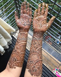 Bridal Henna I was soo amaze and proud that I have such an amazing talented artist across my own country Henna _love this bridal!No photo description available.
