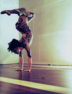 Love the swirls on nude!