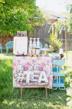 baby girl garden tea party shower